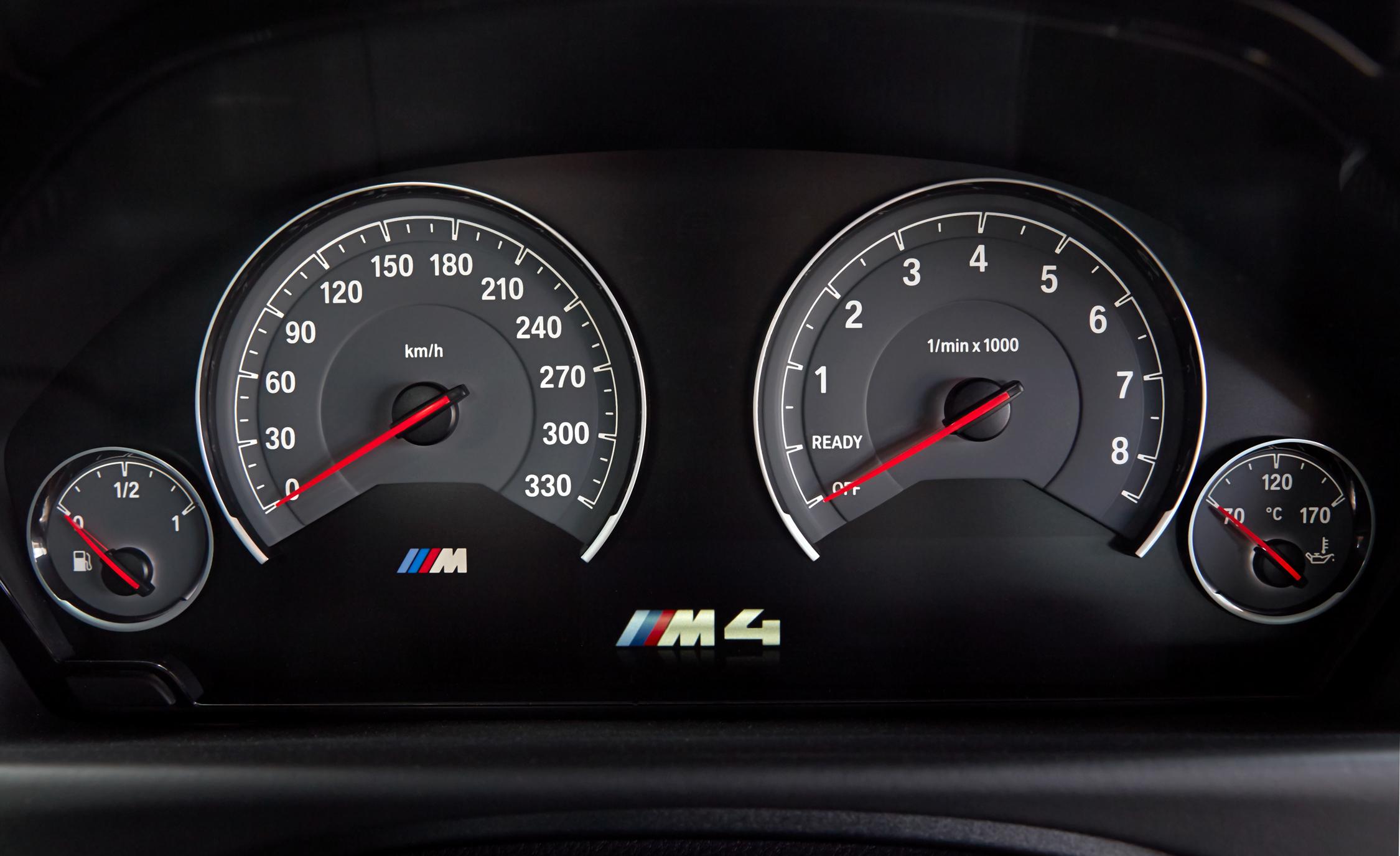 2015 BMW M4 Coupe Interior Speedometer