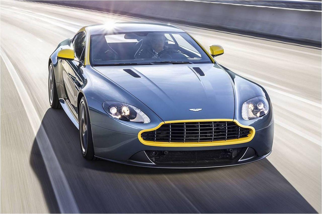 2015 Aston Martin V8 Vantage Gt Riding Sporty And Luxury Ride