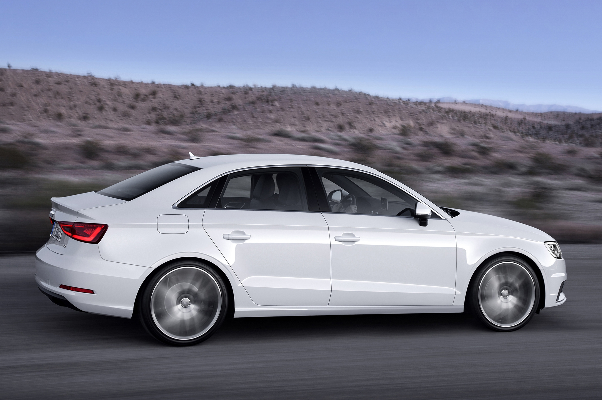 Deluxe 2015 Audi A3 White