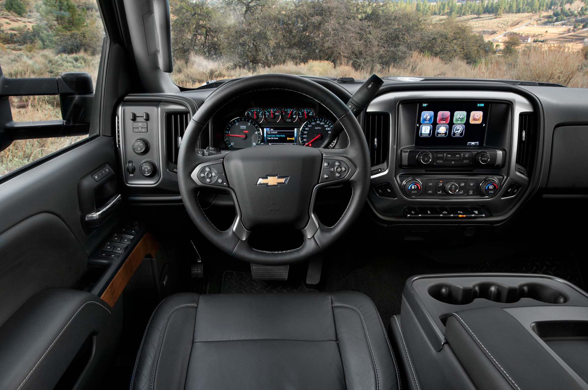 2015 Chevrolet Silverado HD Dashboard