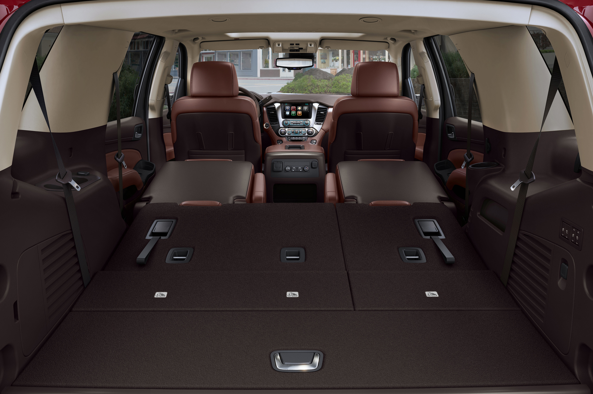 2015 Chevrolet Tahoe Rear Cabin