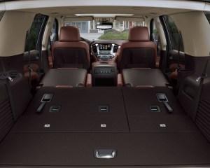 2015 Chevrolet Tahoe Rear Cabin