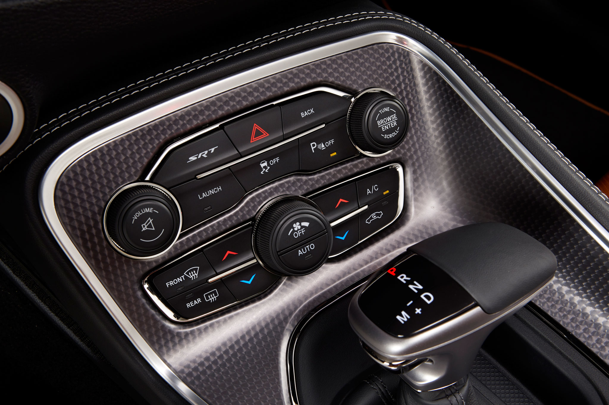 2015 Dodge Challenger Head Unit and Control