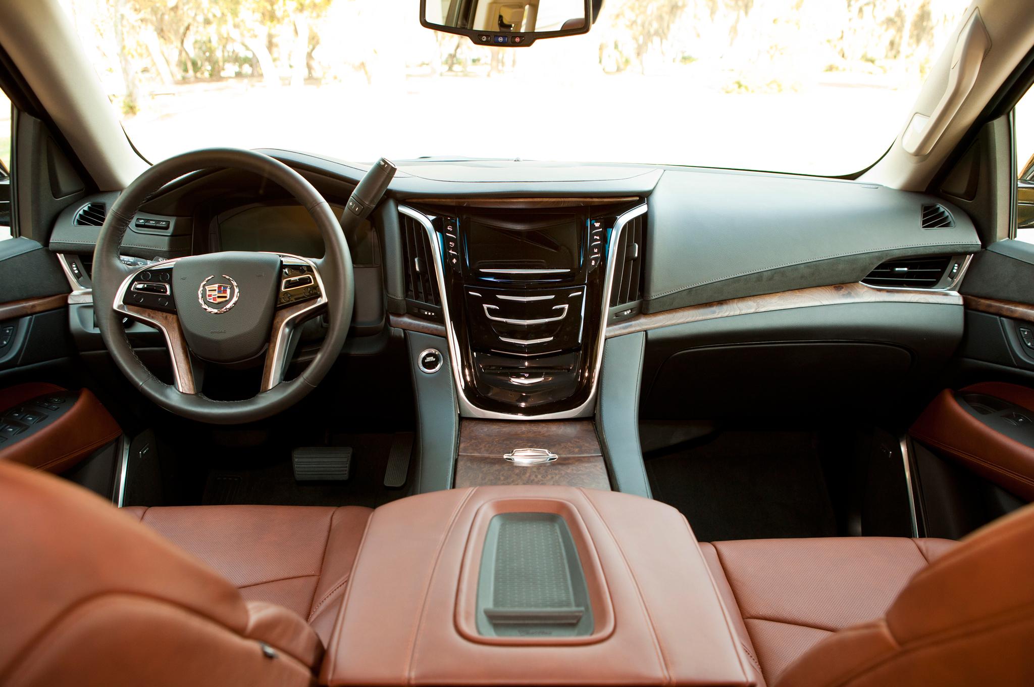 2015 Cadillac Escalade Interior Cockpit View