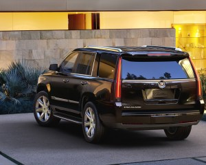 2015 Cadillac Escalade Rear Side View