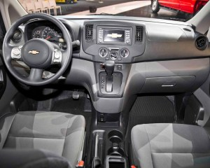 2015 chevrolet city express front interior and dashboard