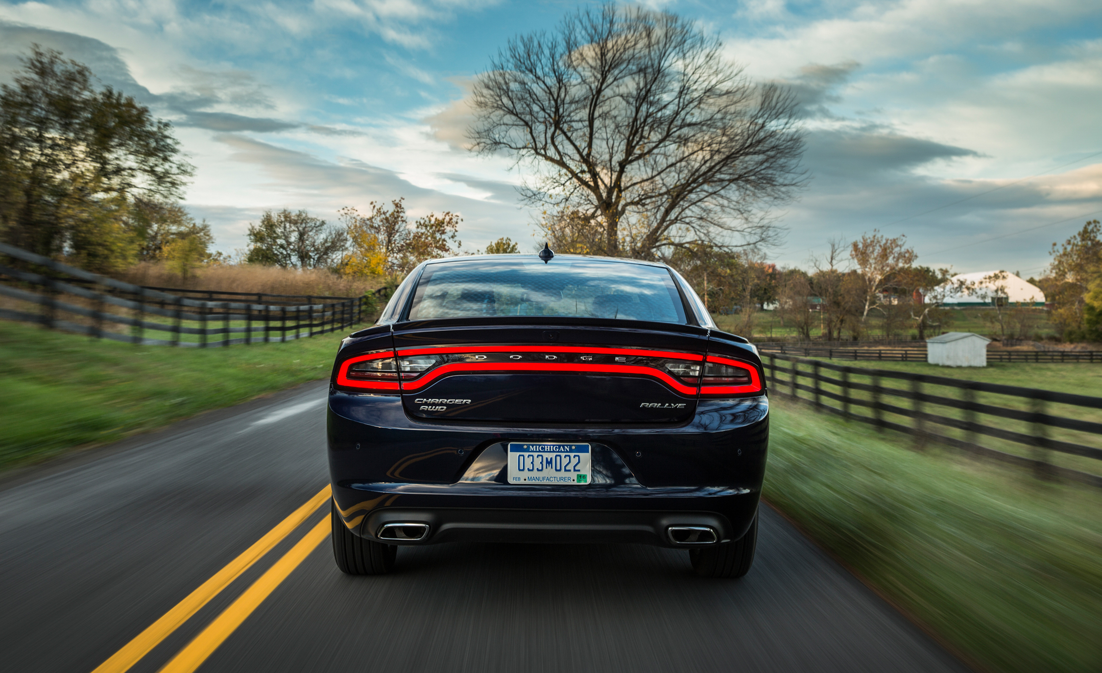 2015 Dodge Charger AWD Rallye Exterior Rear View