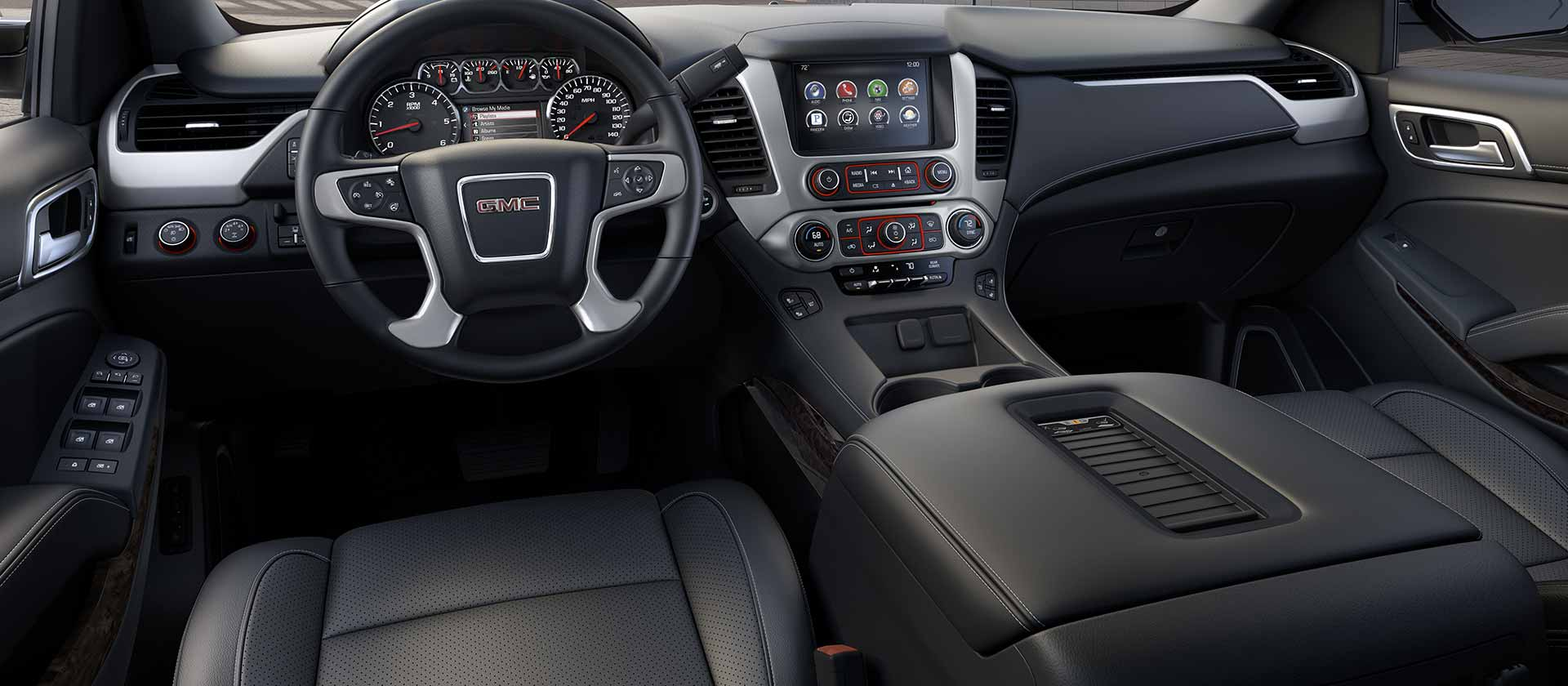 2015 GMC Yukon XL Driver Seat and Dashboard