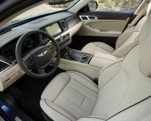 2015 Hyundai Genesis Front Seat Interior