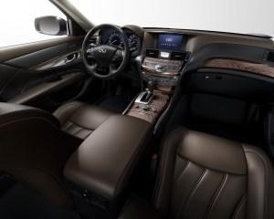2015 Infiniti Q70L Dashboard Design