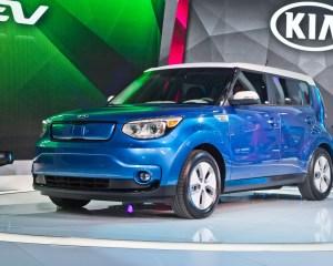 2015 Kia Soul EV Auto Show