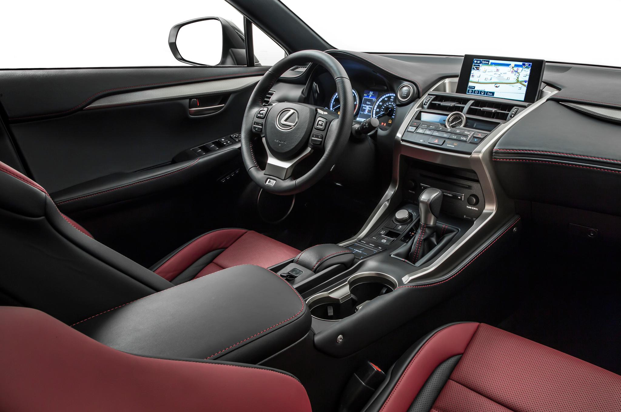 2015 Lexus NX Front Interior