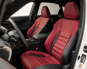 2015 Lexus NX Front Seats Interior