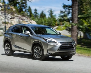 2015 Lexus NX Grey Test