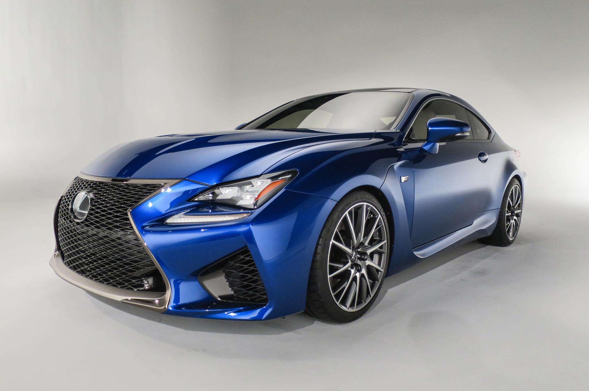 2015 Lexus RC F Design Photo