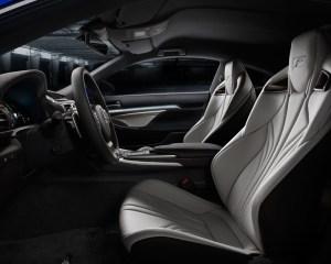 2015 Lexus RC F Interior Seats