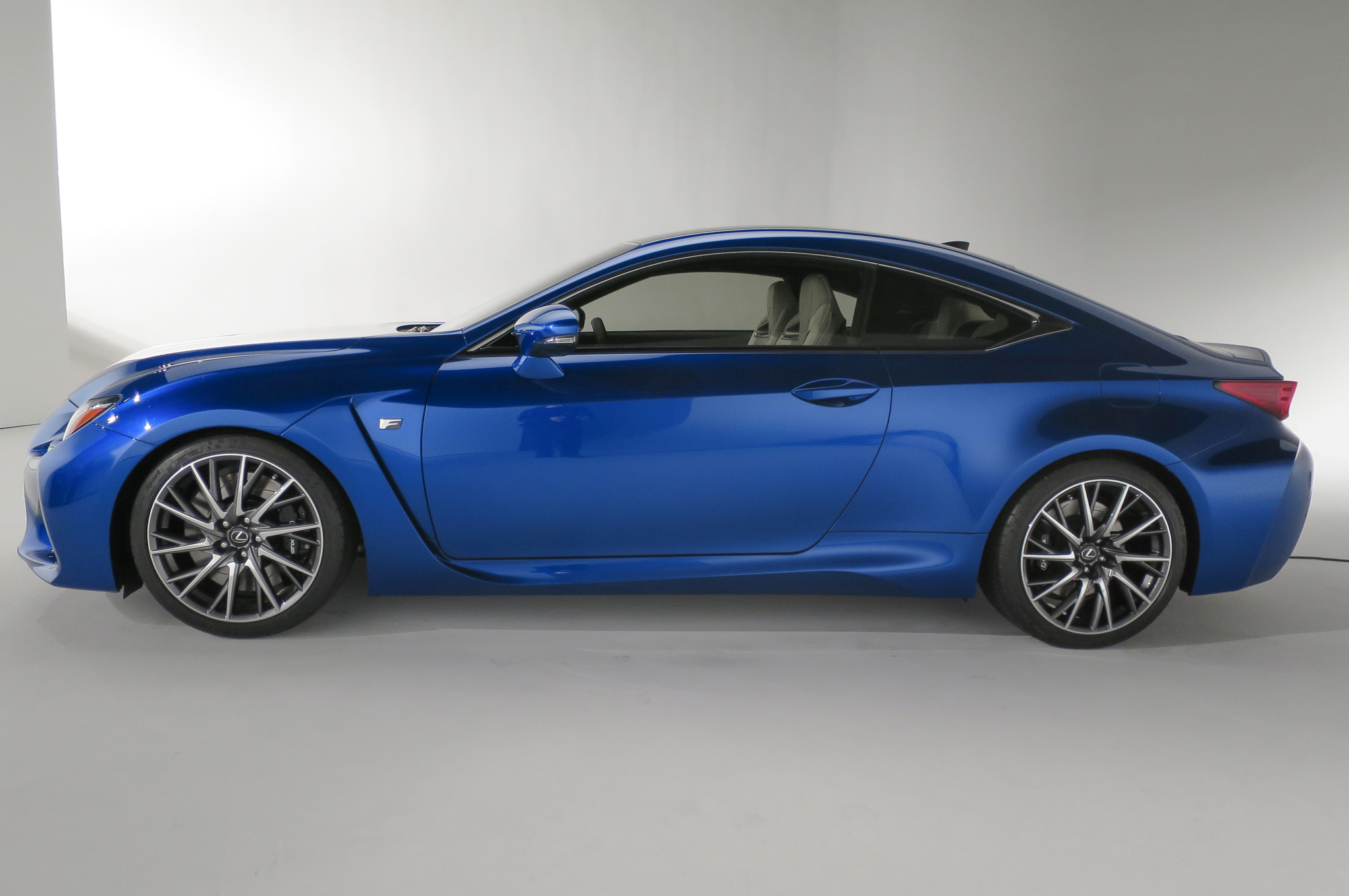 2015 Lexus RC F Side View