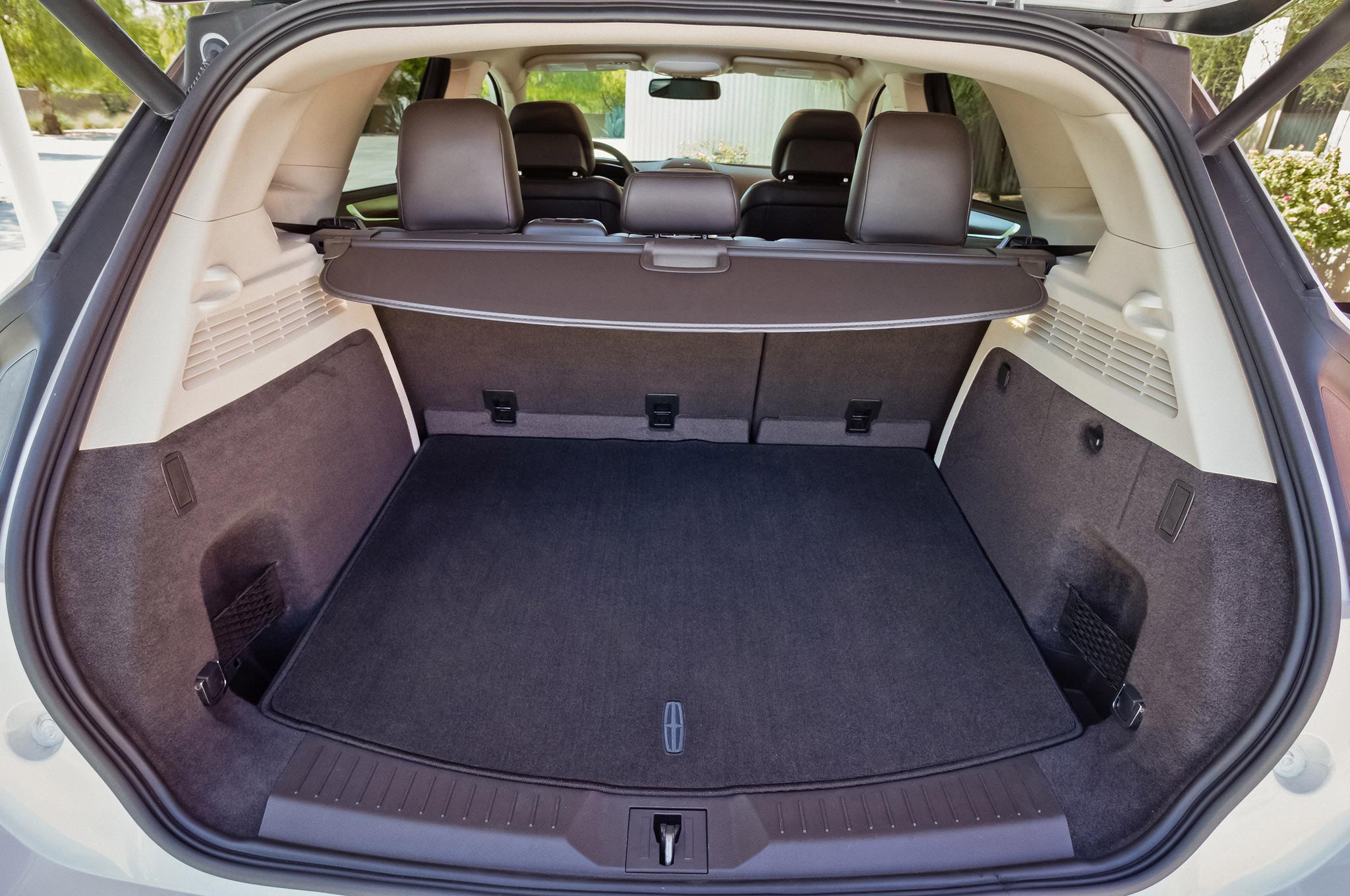 2015 Lincoln MKC Rear Interior Seats Up