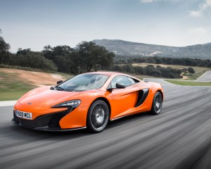 2015 McLaren 650S in Motion Image