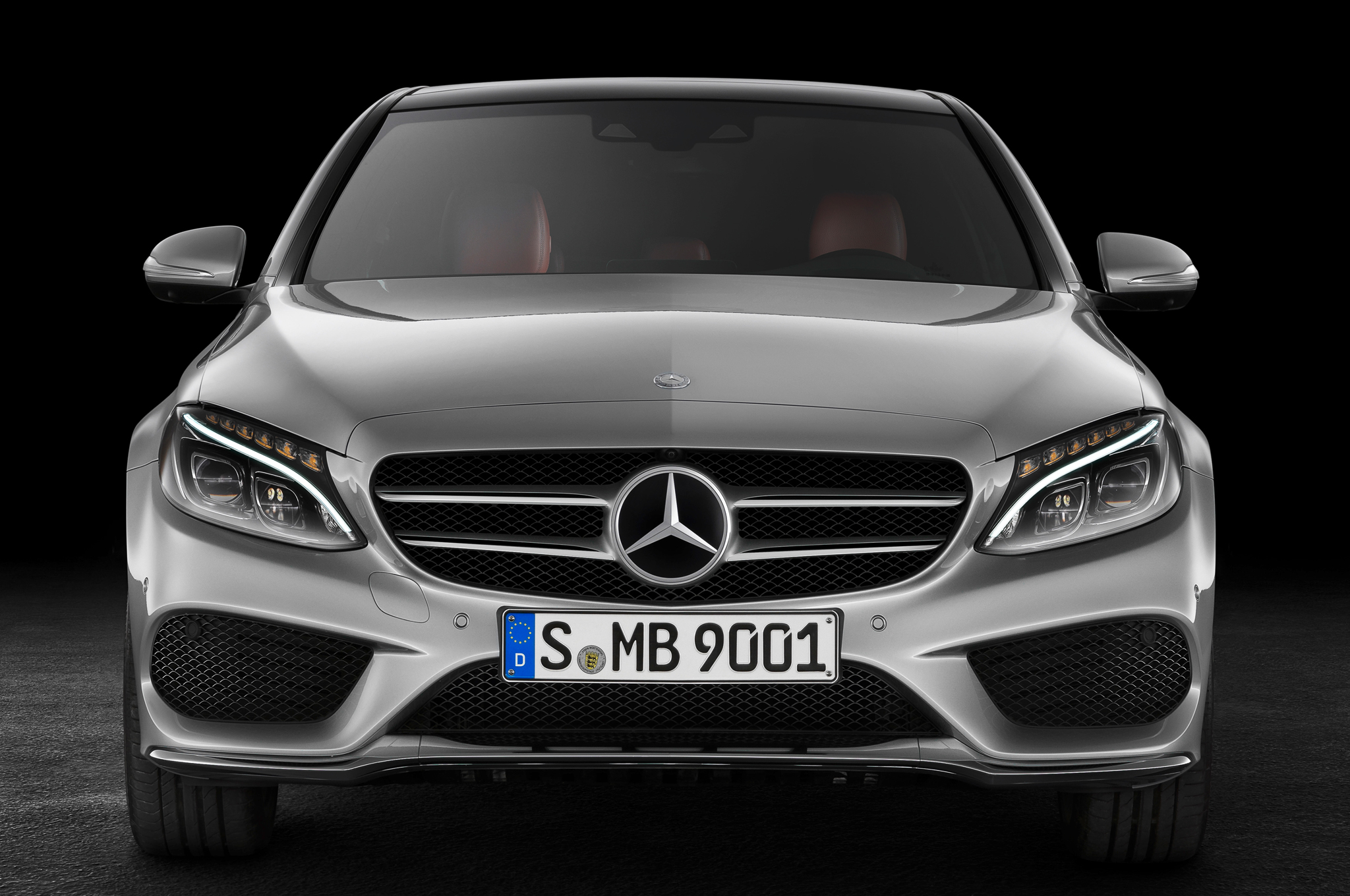 2015 Mercedes-Benz C-Class Front End Design