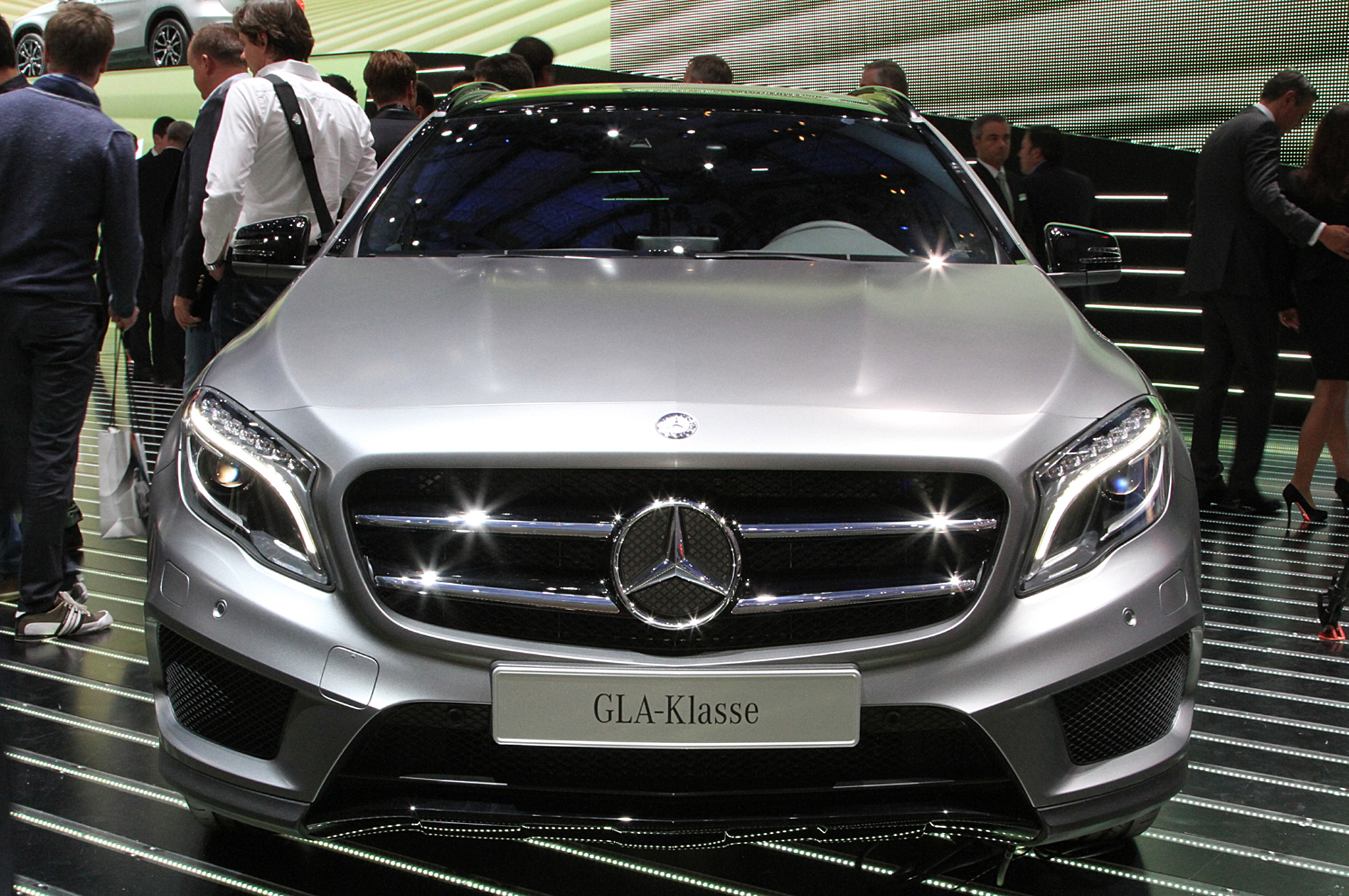 2015 Mercedes-Benz GLA-Class Front Design