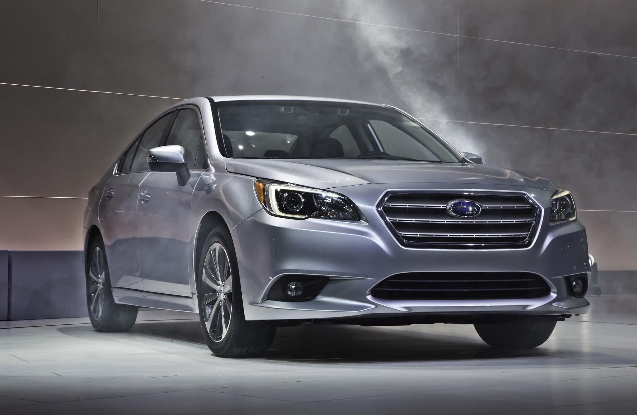 2015 Subaru Legacy Front End Design