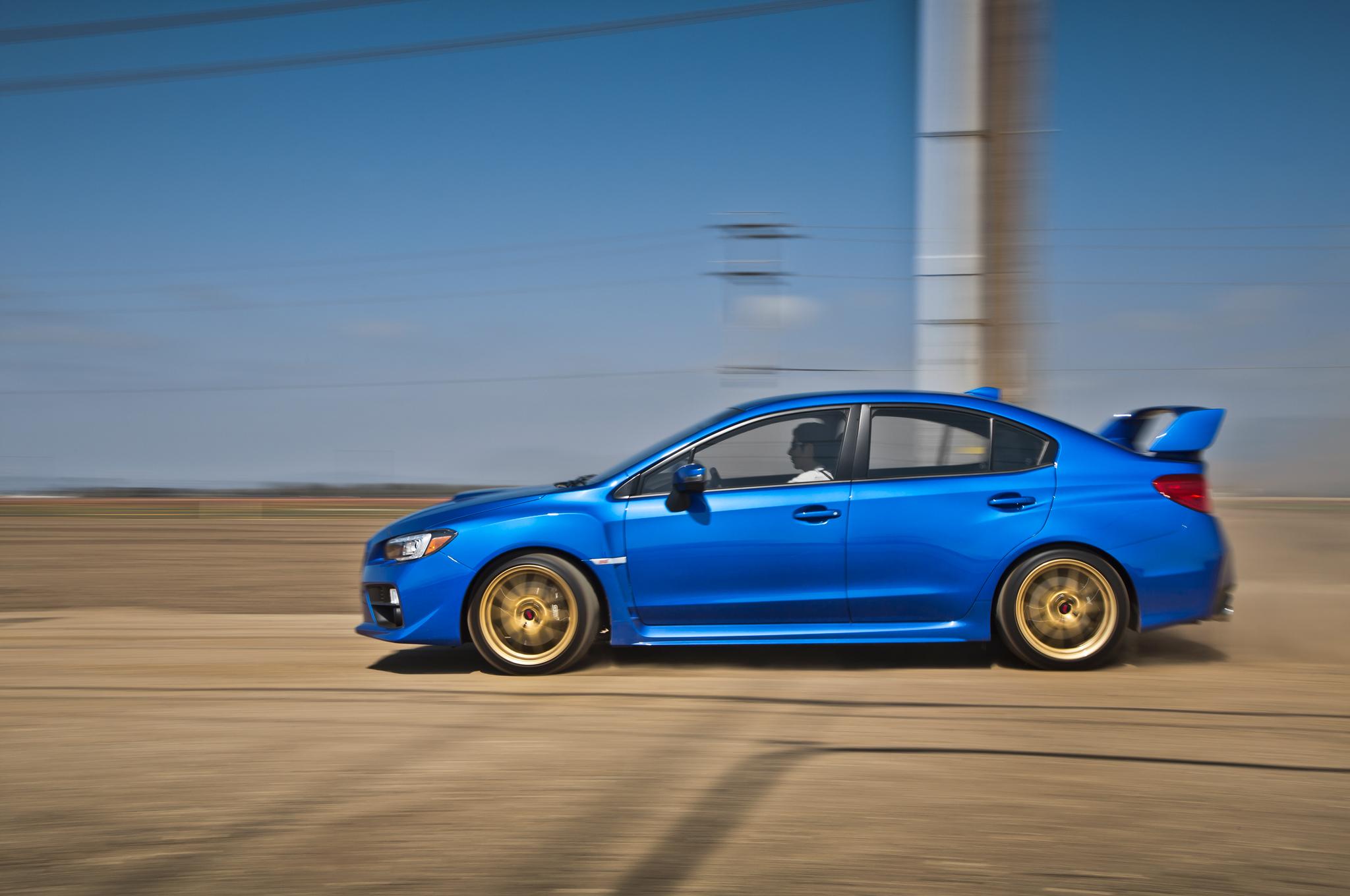 2015 Subaru WRX-STI Drive Performance