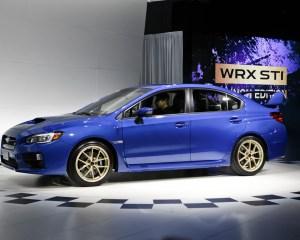 2015 Subaru WRX-STI Exterior Profile