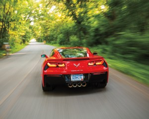 2014 Chevrolet Corvette Stingray Z51 Rear Photo