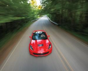2014 Chevrolet Corvette Stingray Z51 Top Photo