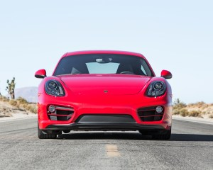 2014 Porsche Cayman Front End Photo