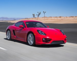 2014 Porsche Cayman Test