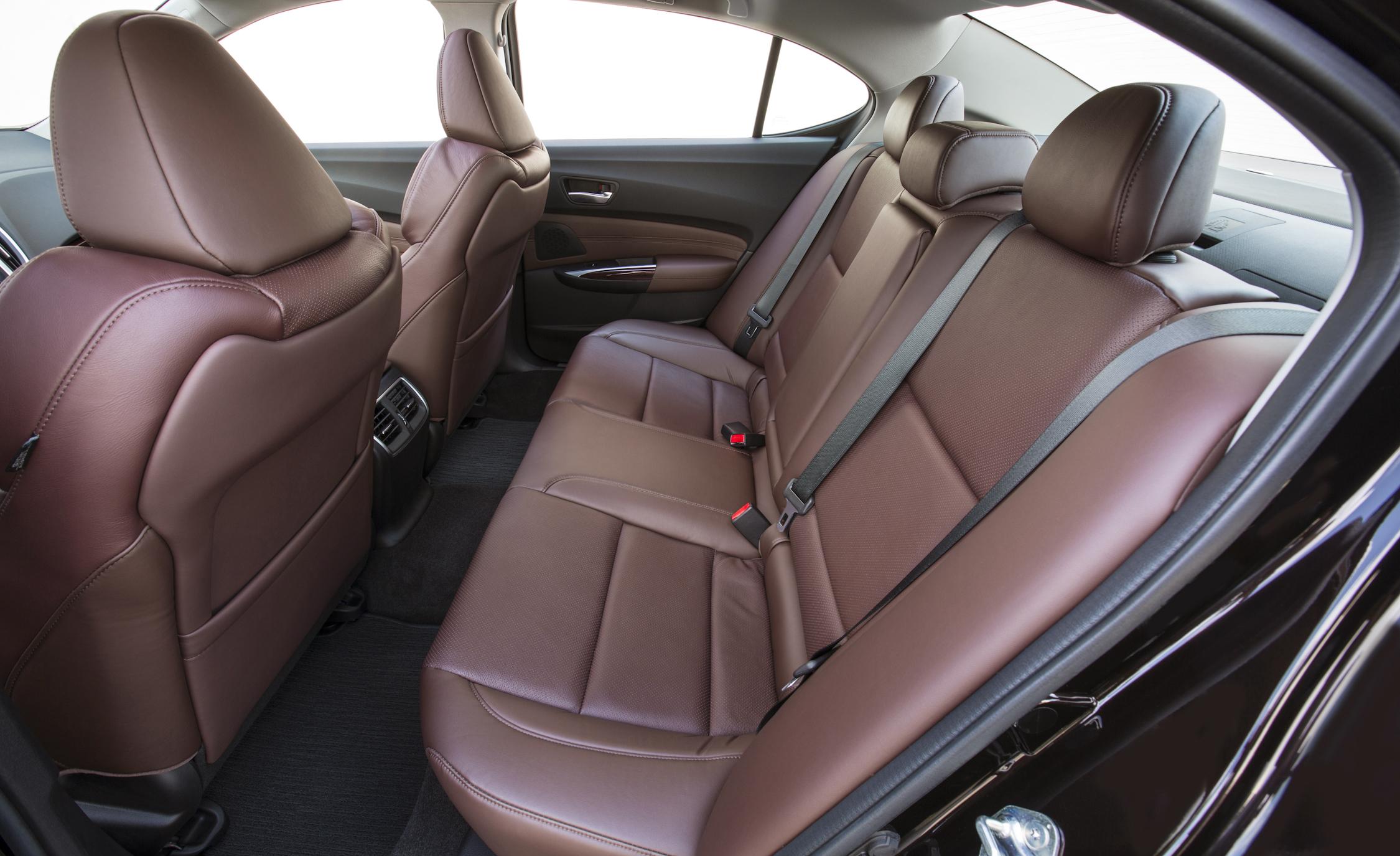 2015 Acura TLX 3.5L Interior Rear Seats