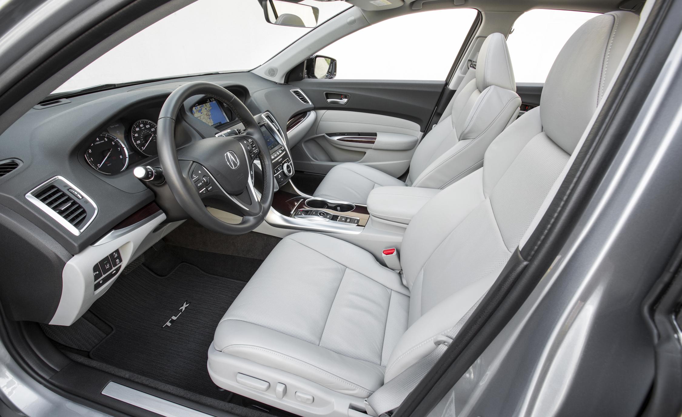 2015 Acura TLX 3.5L SH-AWD Interior Front Seats