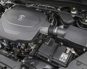 2015 Acura TLX 3.5L 3.5-Liter V-6 engine