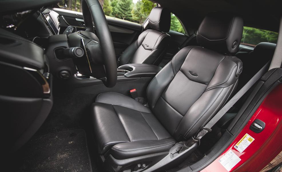 2015 Cadillac ATS-V Coupe Front Interior Seats