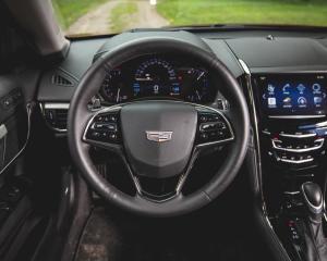 2015 Cadillac ATS-V Coupe Streering Photo