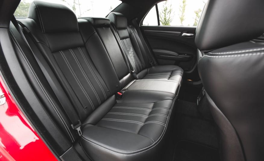 2015 Chrysler 300 Rear Seats Interior