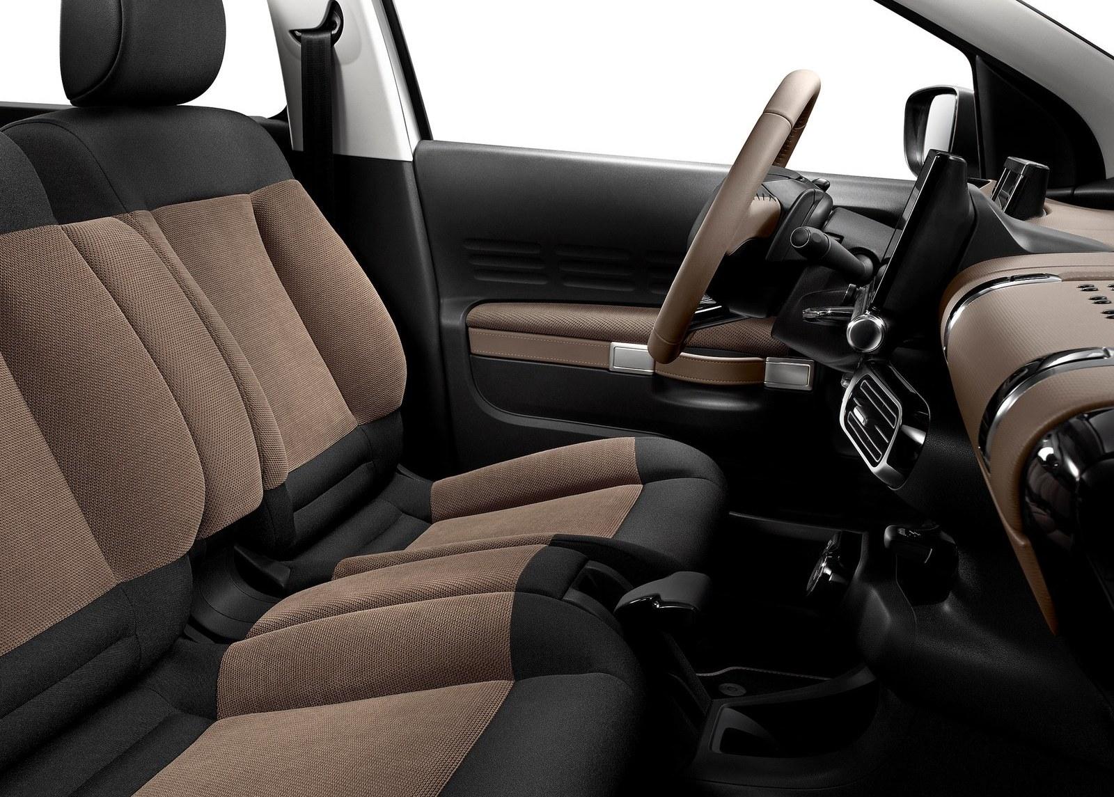 2015 Citroen C4 Cactus Front Seats