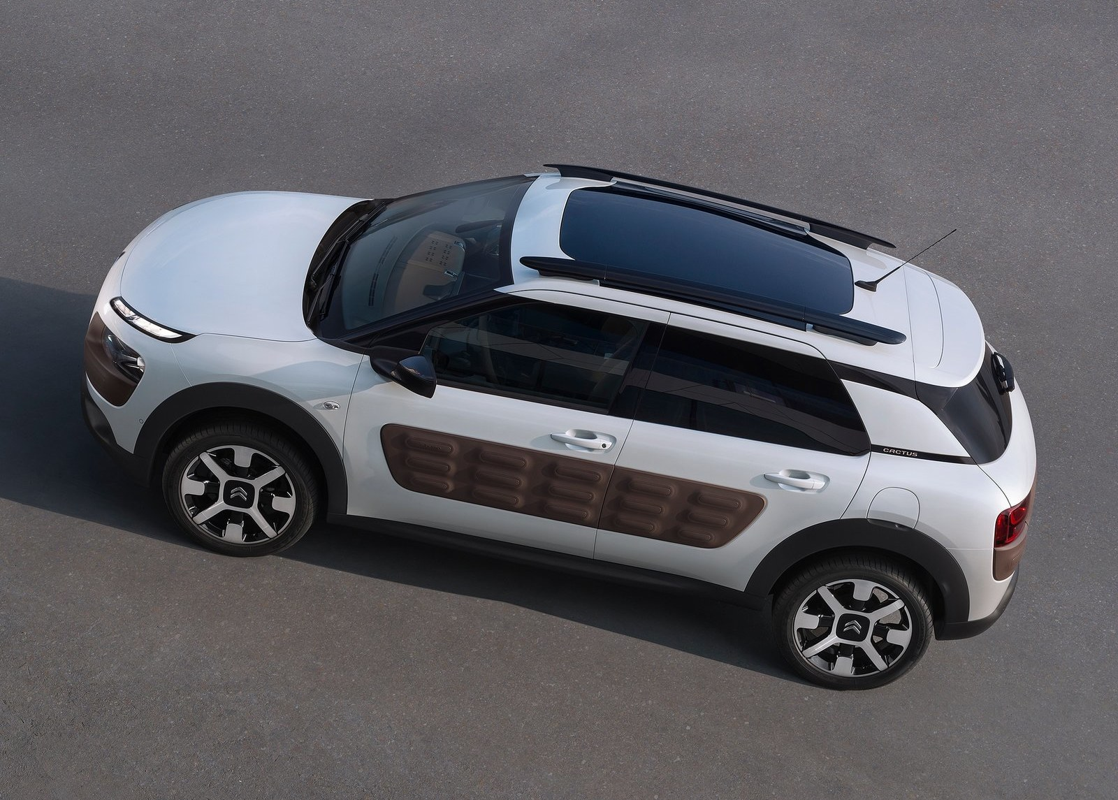 2015 Citroen C4 Cactus Roof View