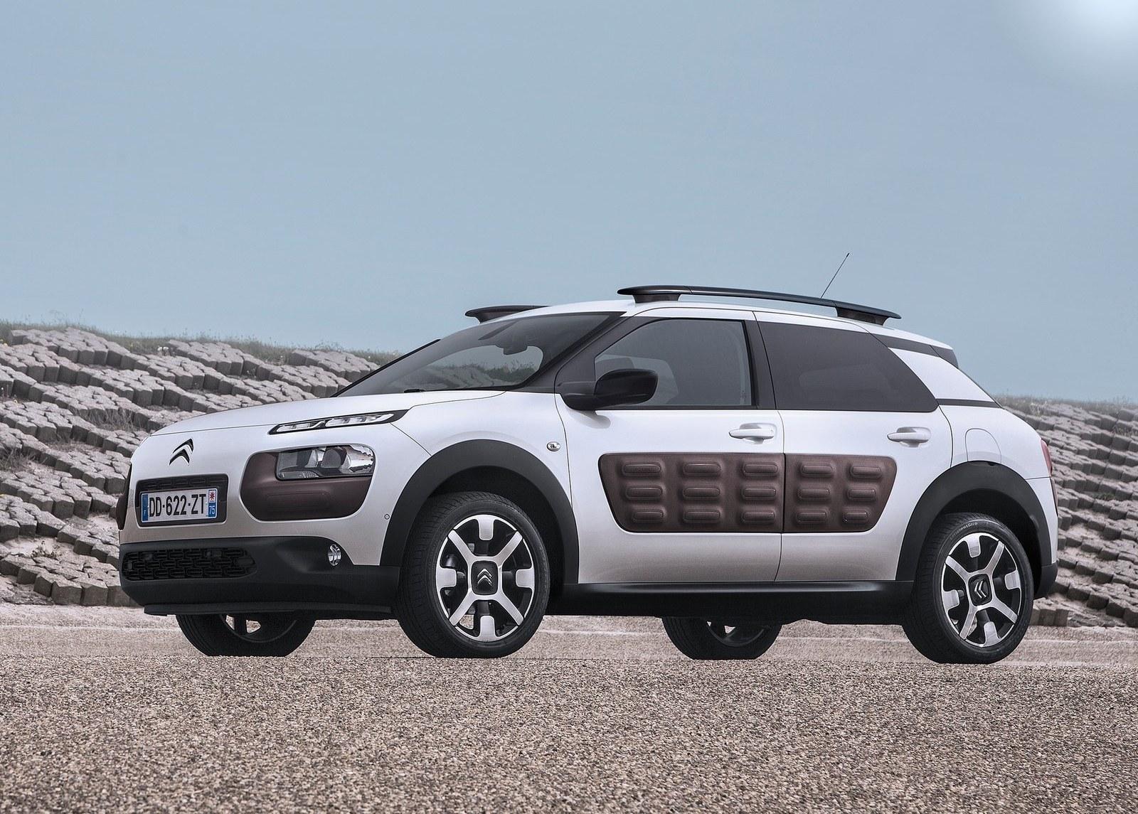 2015 Citroen C4 Cactus Side Preview