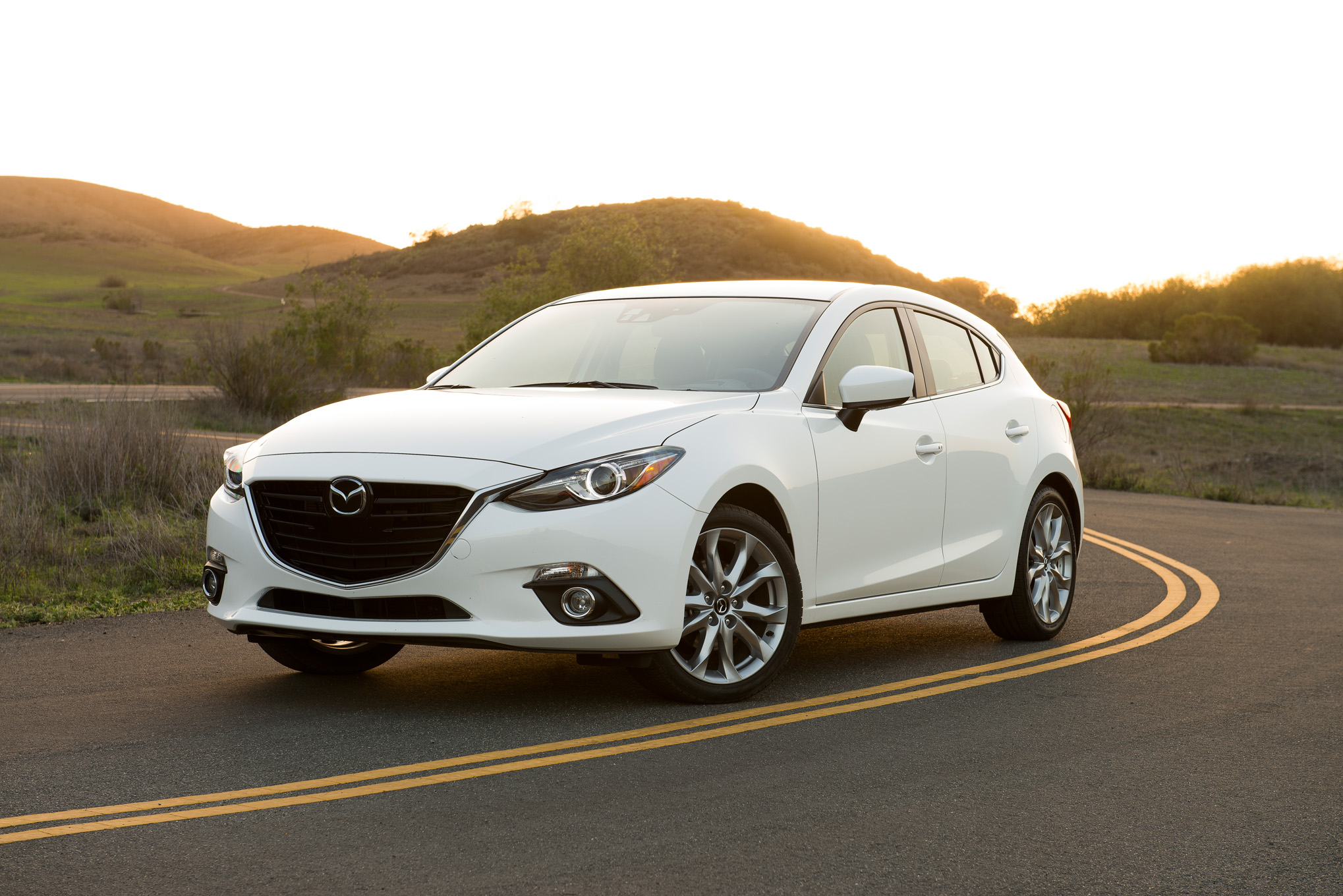 2015 Mazda 3 Front Side