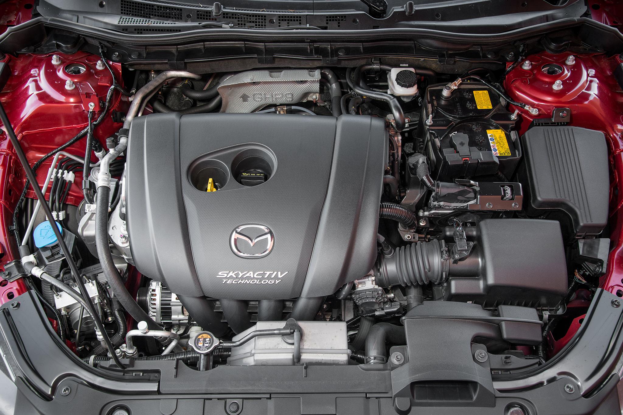2015 Mazda 6 Engine Preview