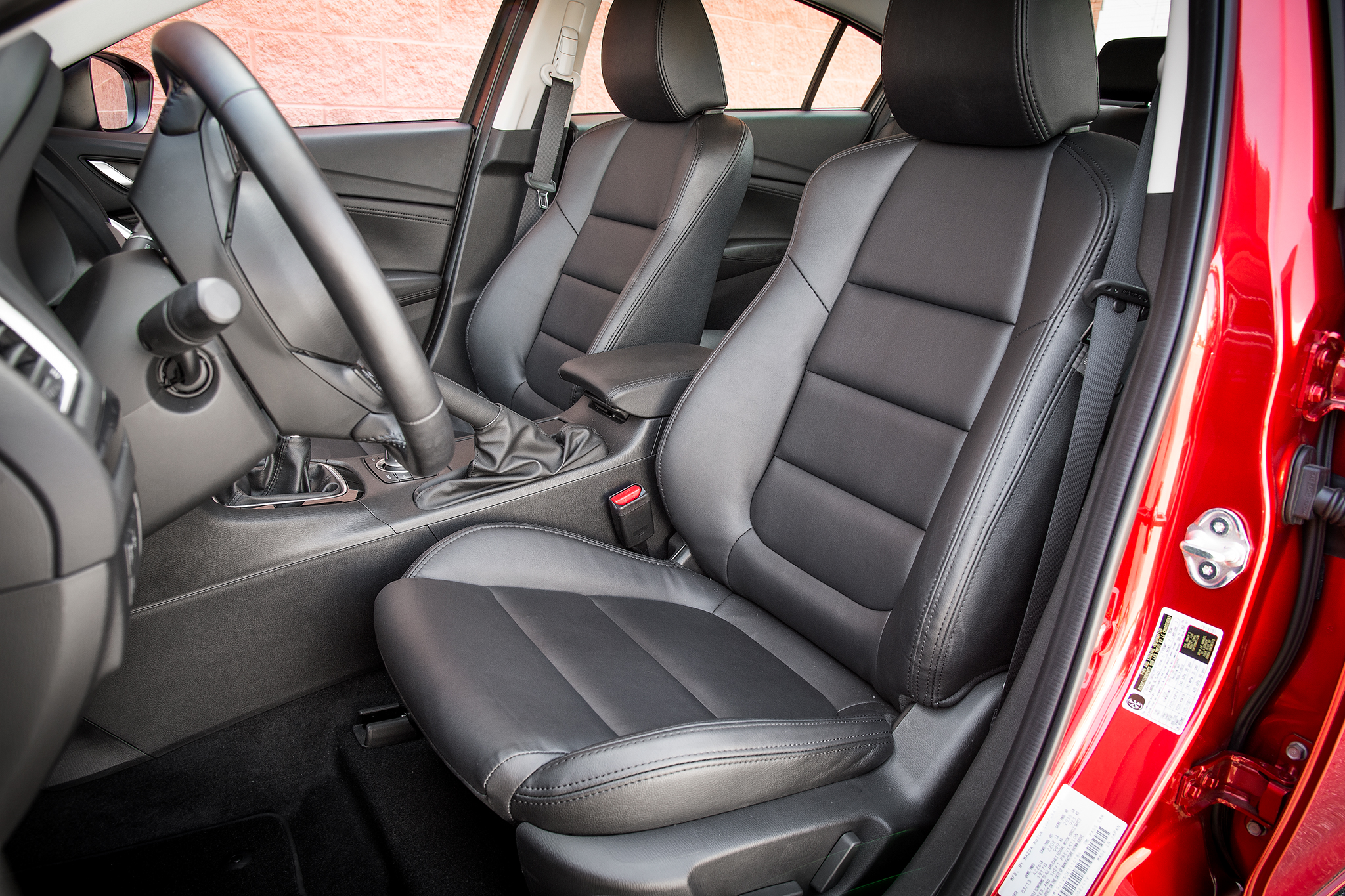 2015 Mazda 6 Front Seats Preview