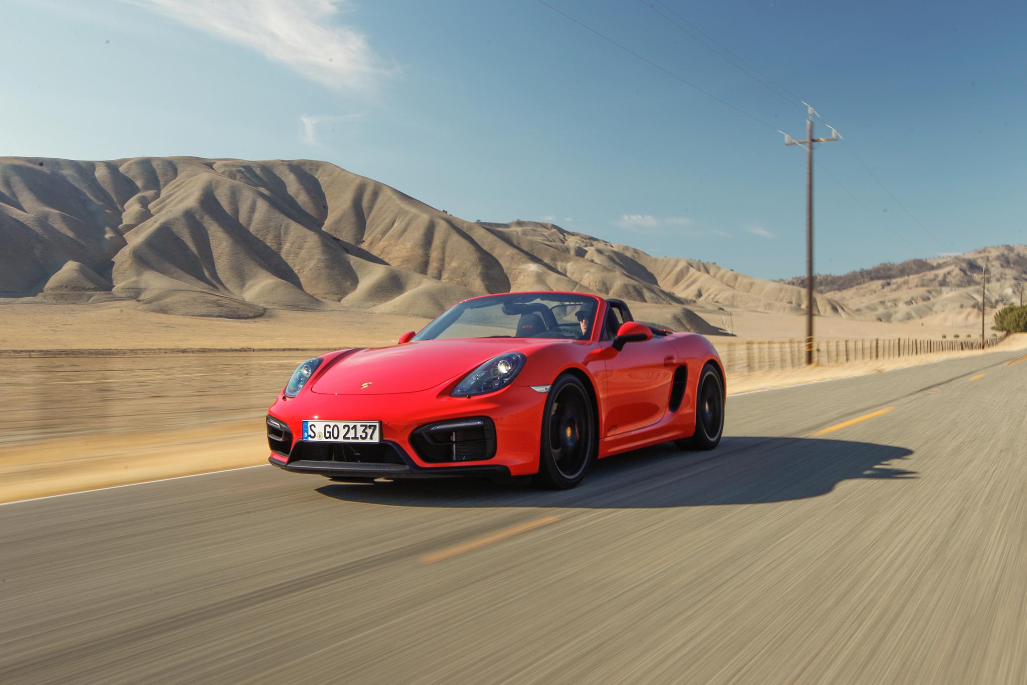 2015 Porsche Boxster Front Side Photo