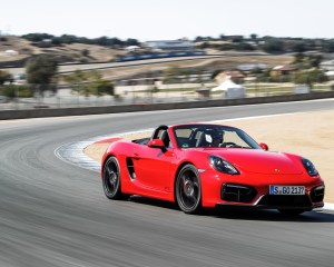 2015 Porsche Boxster GTS Performance Test