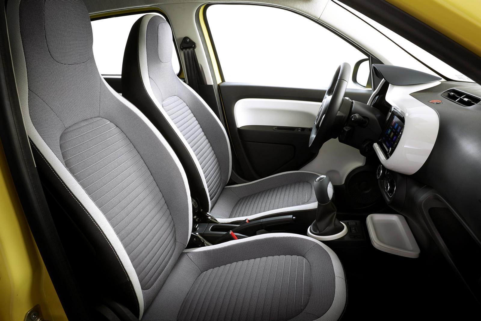 2015 Renault Twingo Front Seats Interior