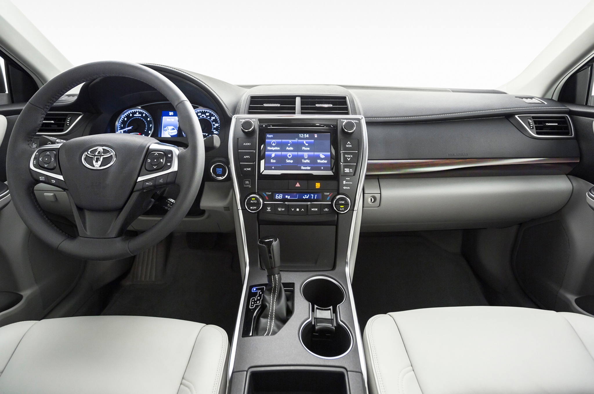 2015 Toyota Camry Front Interior