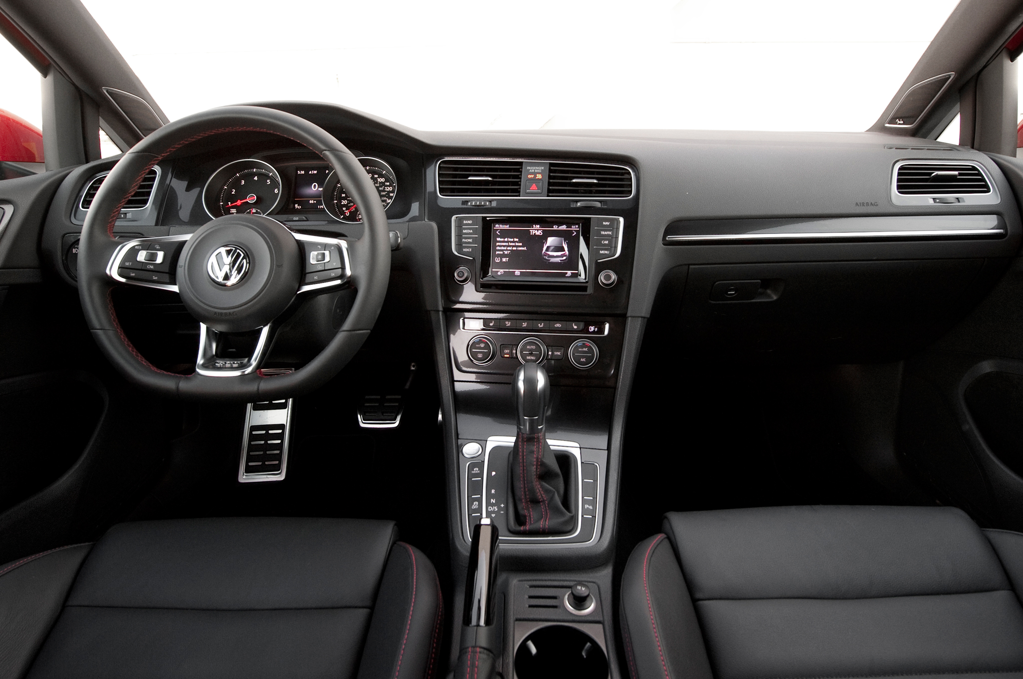 2015-Volkswagen Golf GTI Interior Dash and Panel