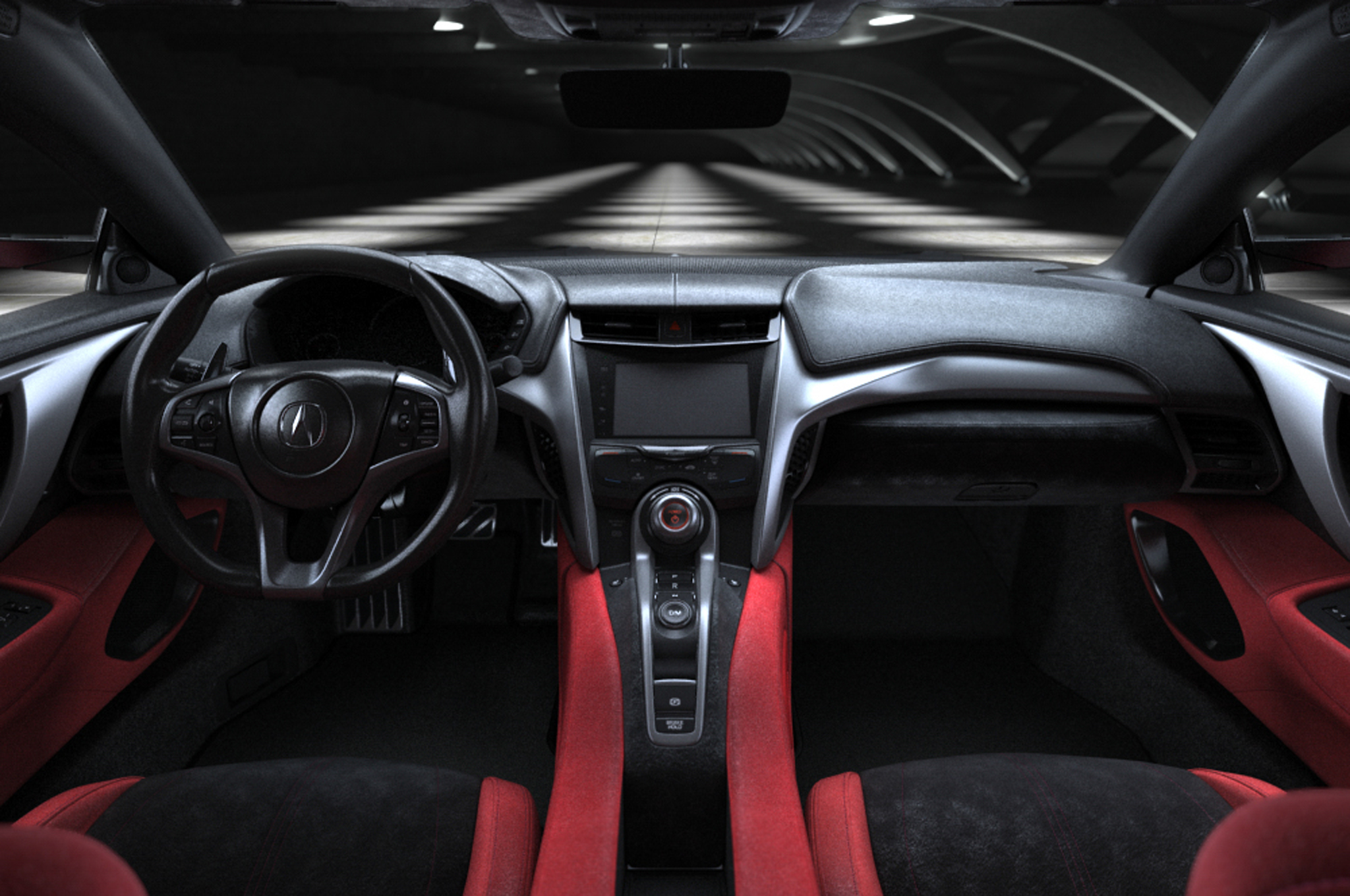 2016 Acura NSX Interior Dashboard